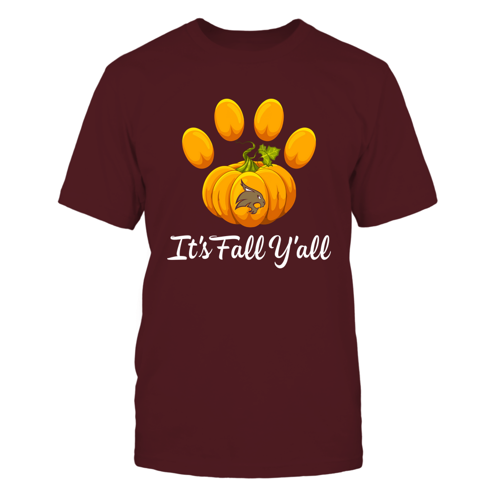 Texas State Bobcats - Pumpkin Paw - IF13-IC13-DS83 Front picture