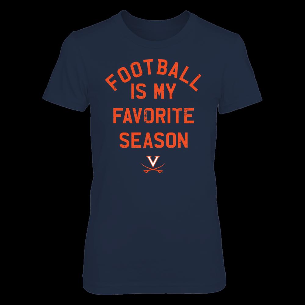Virginia Cavaliers - Football Is My Favorite Season - Team Front picture