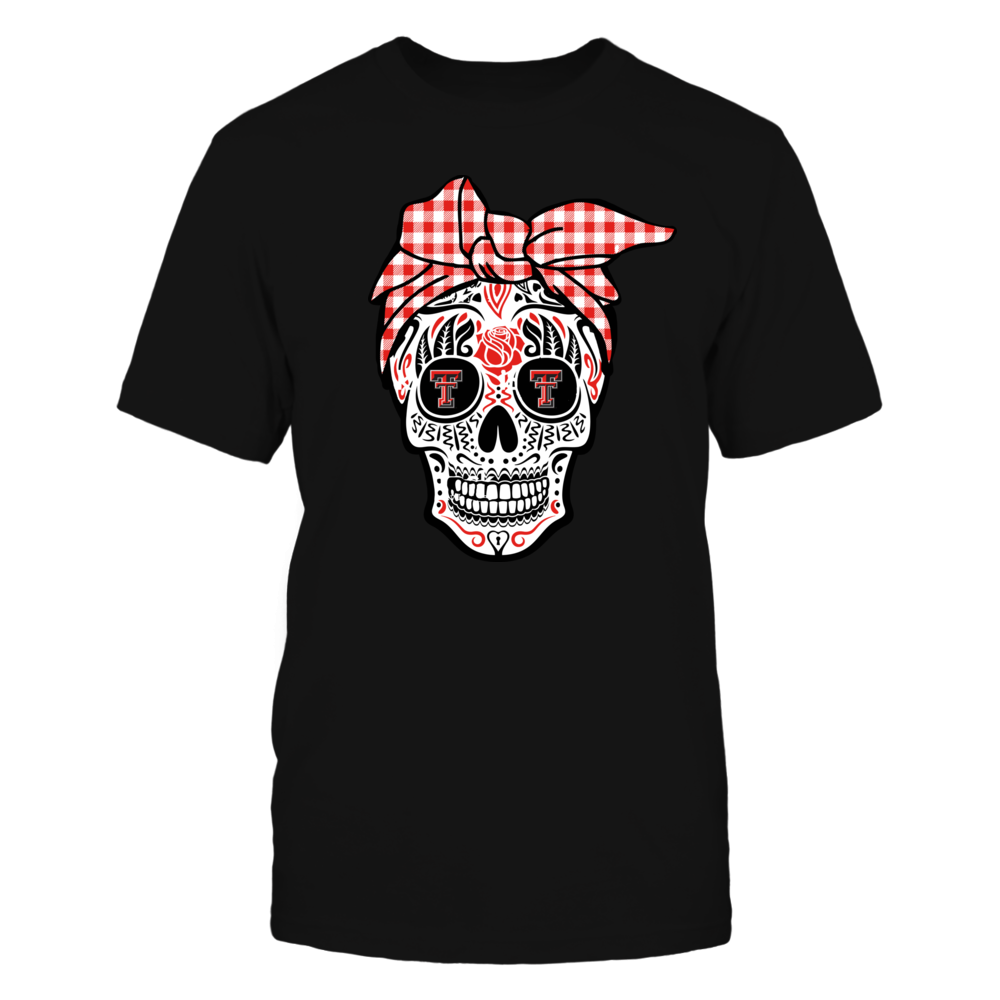 Texas Tech Red Raiders - Sugar Skull Turban - IF-IC78-DS85 Front picture