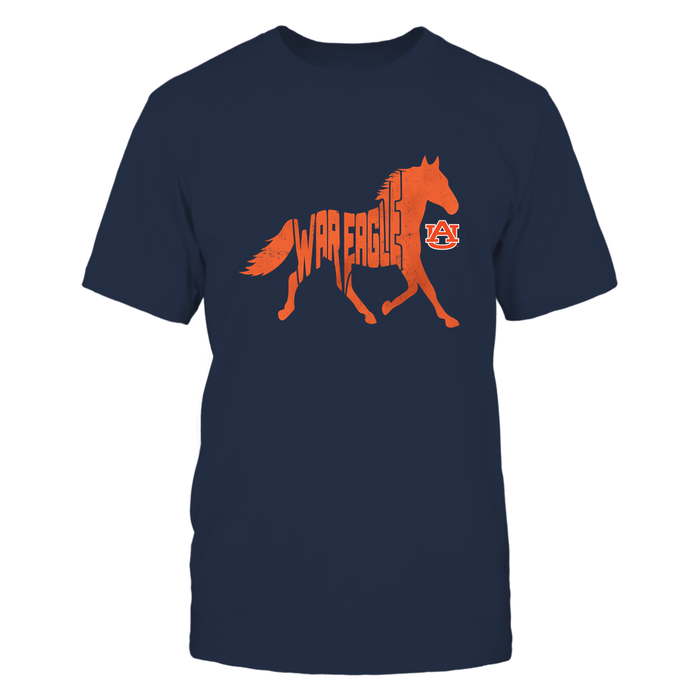 Auburn Tigers - Horse - Team Slogan Inside Horse - IF13-IC13-DS27 Front picture