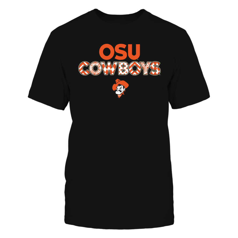 Oklahoma State Cowboys - Team-Slogan-Pattern-IF78-IC78-DS29 Front picture
