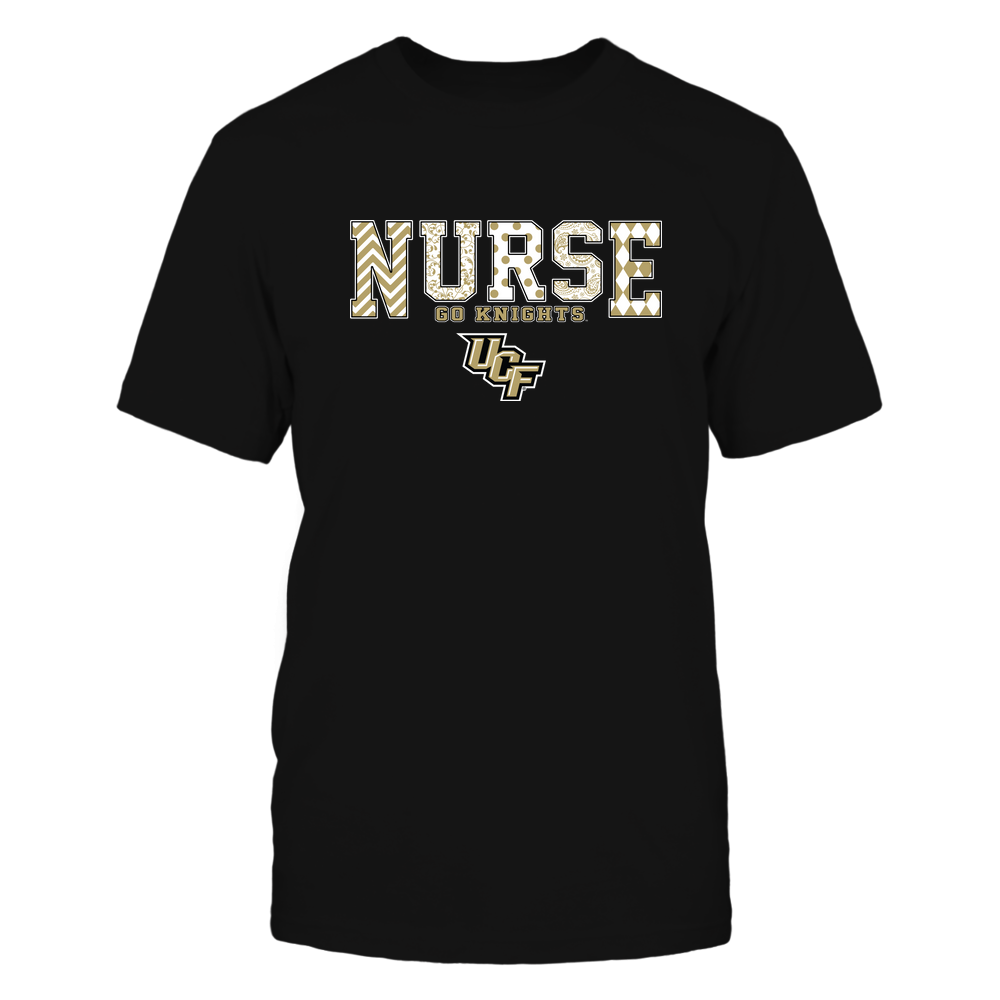 UCF Knights - Nurse Patterned Team Slogan Front picture