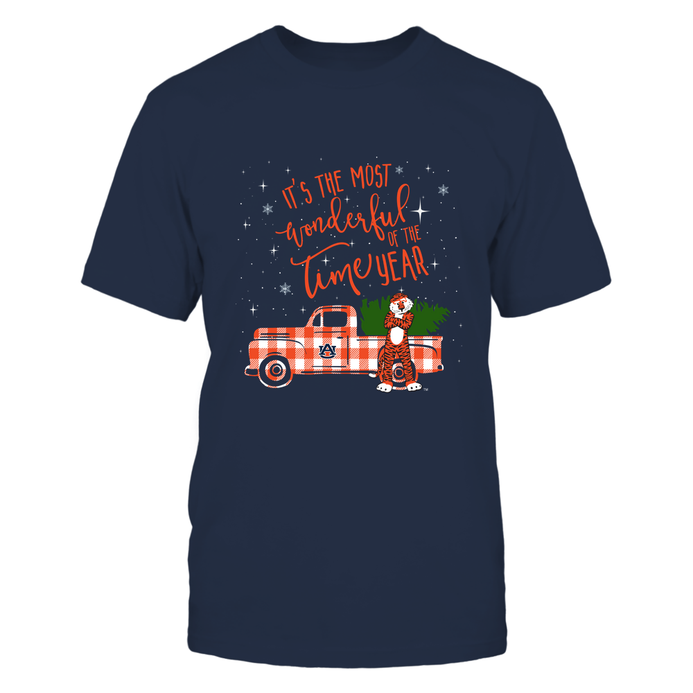 Auburn Tigers - The Most Wonderful Time - Christmas - IF82-IC82-DS75 Front picture