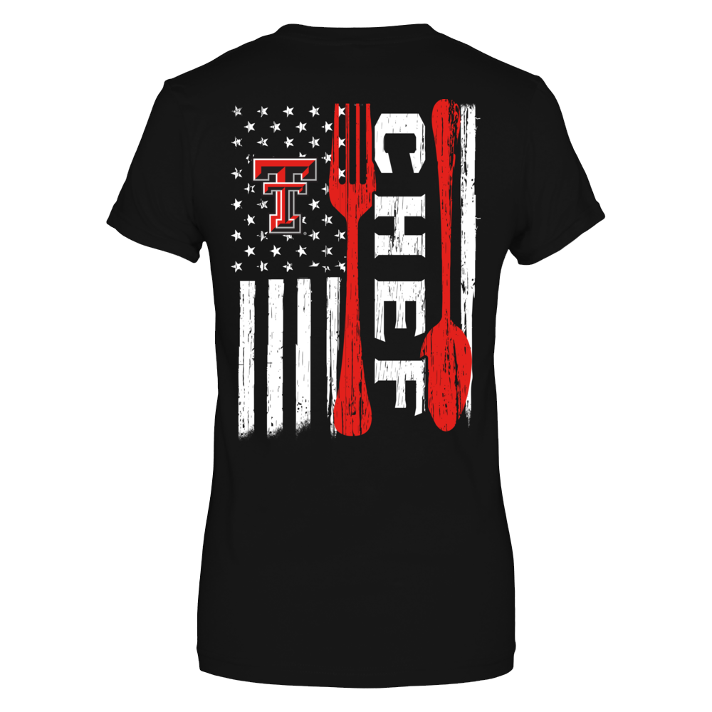 Texas Tech Red Raiders - Chef Things Inside Nation Flag Back picture