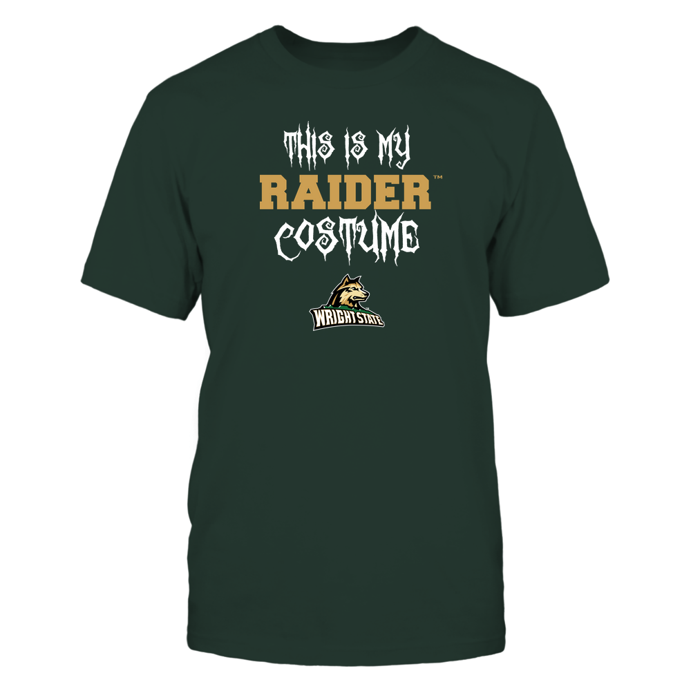 Wright State Raiders - This Is My Halloween Costume - Mascot - Team Front picture
