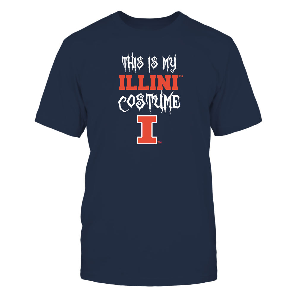 Illinois Fighting Illini - This Is My Halloween Costume - Mascot - Team Front picture