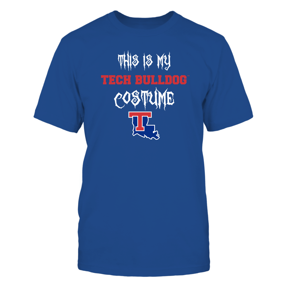 Louisiana Tech Bulldogs - This Is My Halloween Costume - Mascot - Team Front picture