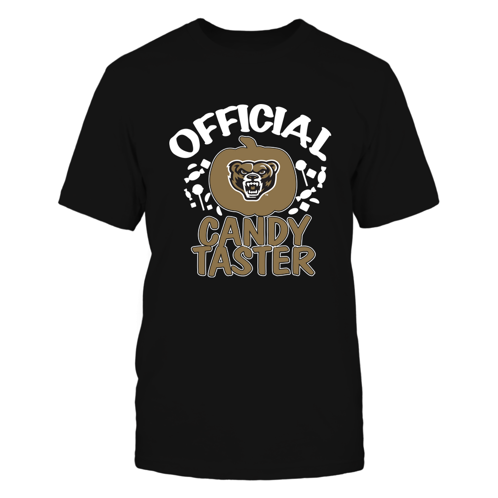Oakland Golden Grizzlies - Official Candy Taster - Halloween - Team Front picture