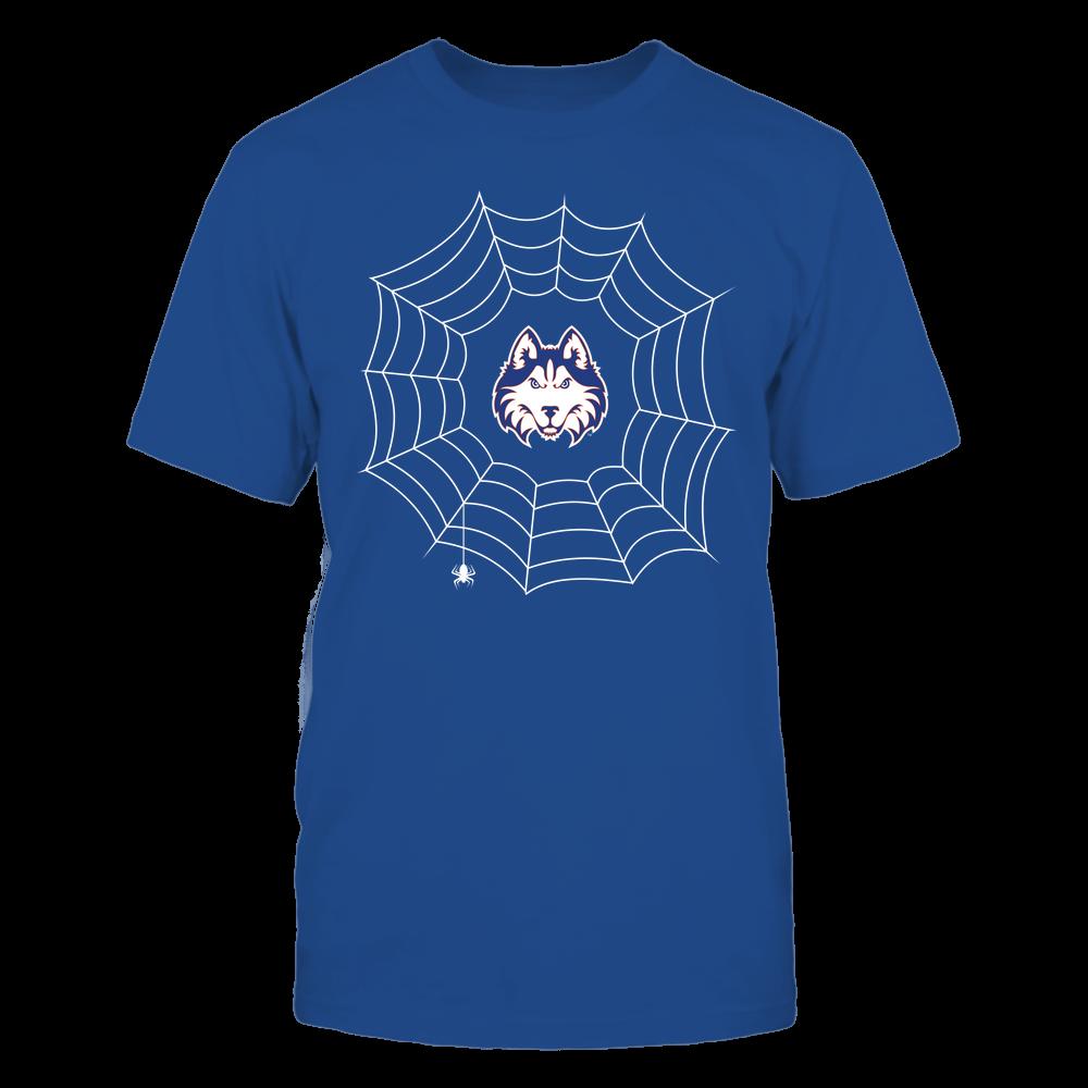 Houston Baptist Huskies - Halloween Spiderweb Costume - Team Front picture