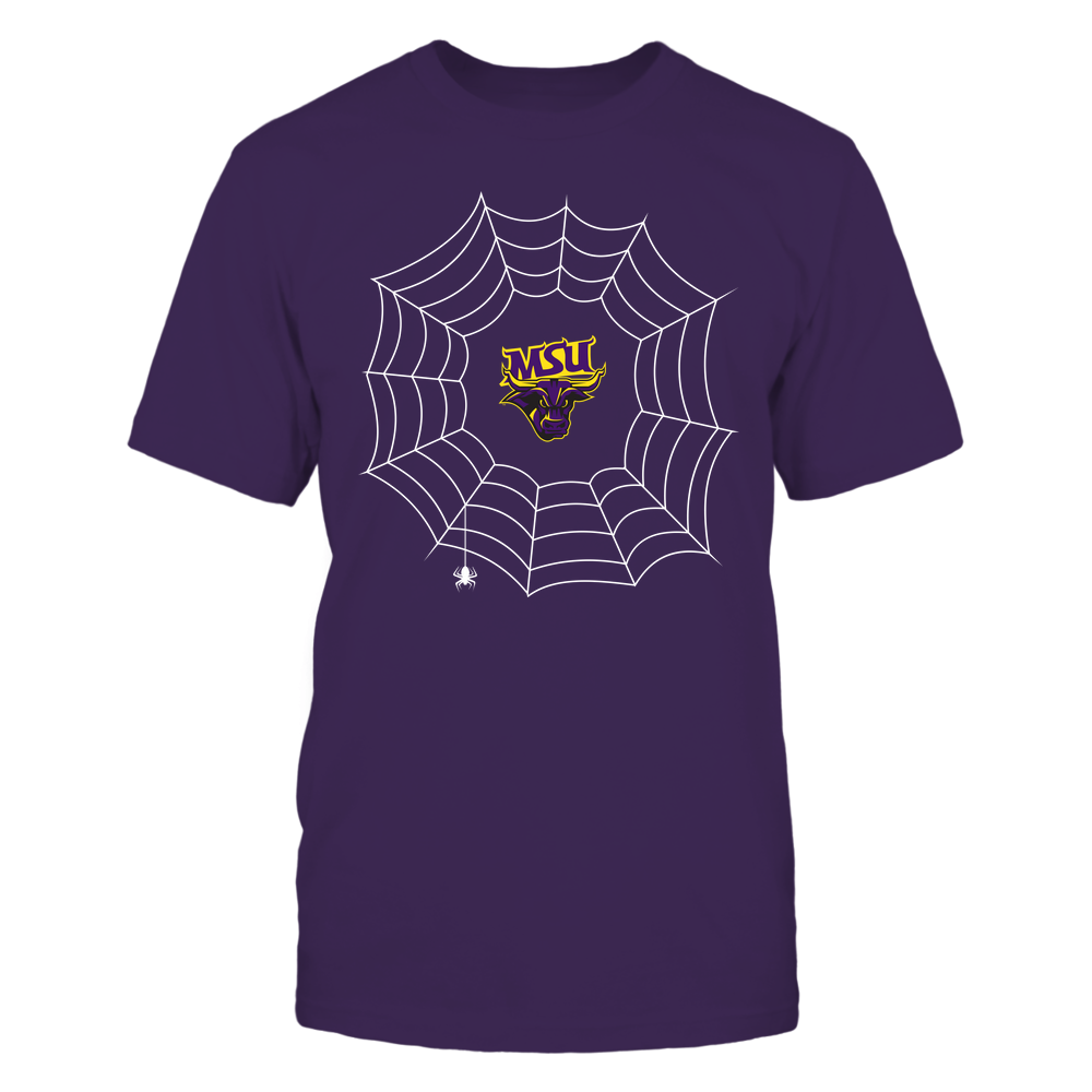 Minnesota State Mavericks - Halloween Spiderweb Costume - Team Front picture