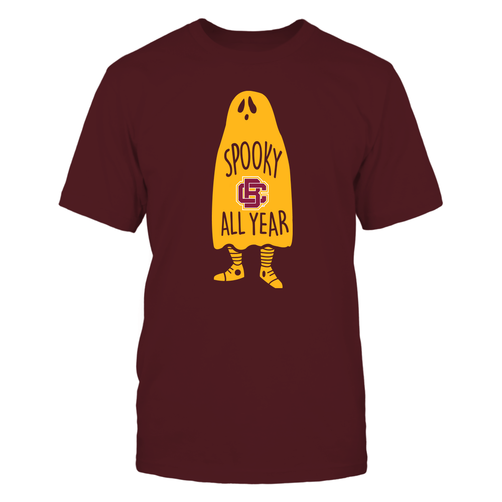 Bethune-Cookman Wildcats - Halloween - Spooky All Year Ghost - Team Front picture