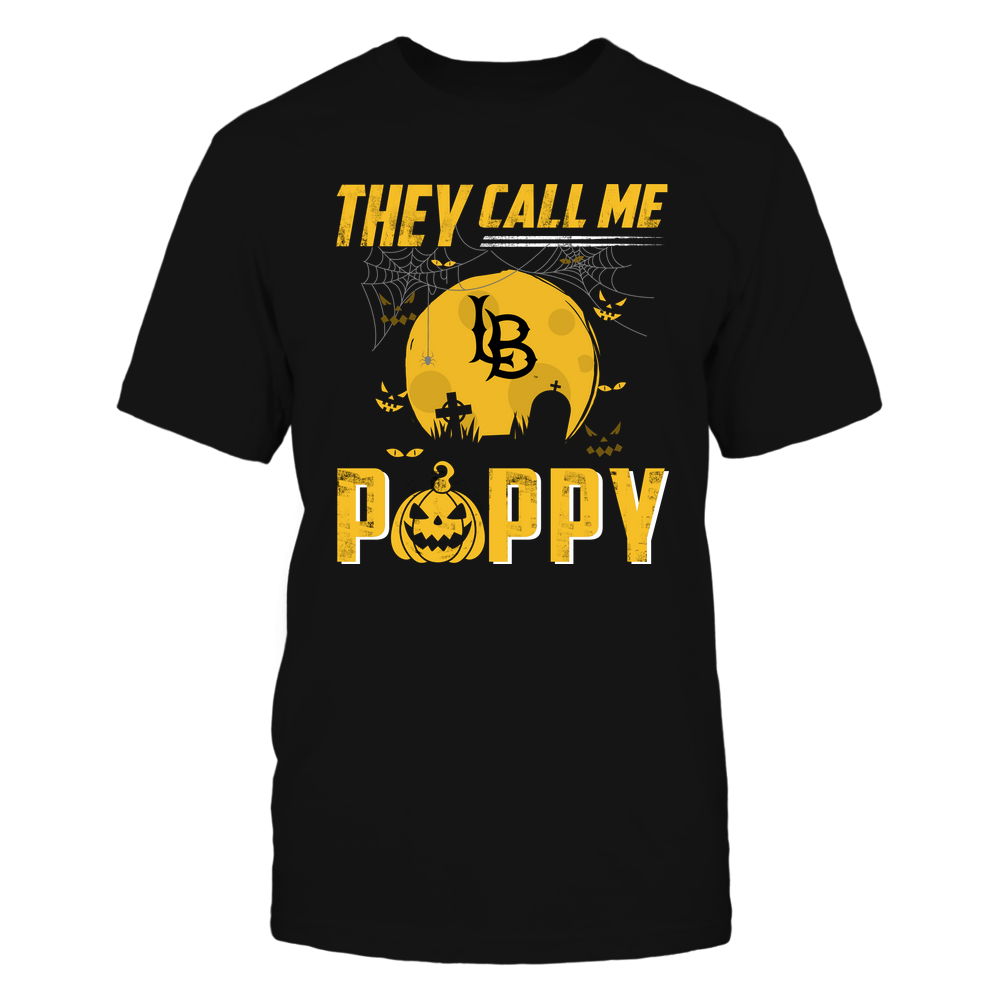 Long Beach State 49ers - They Call Me Poppy - Halloween Pumpkin Front picture