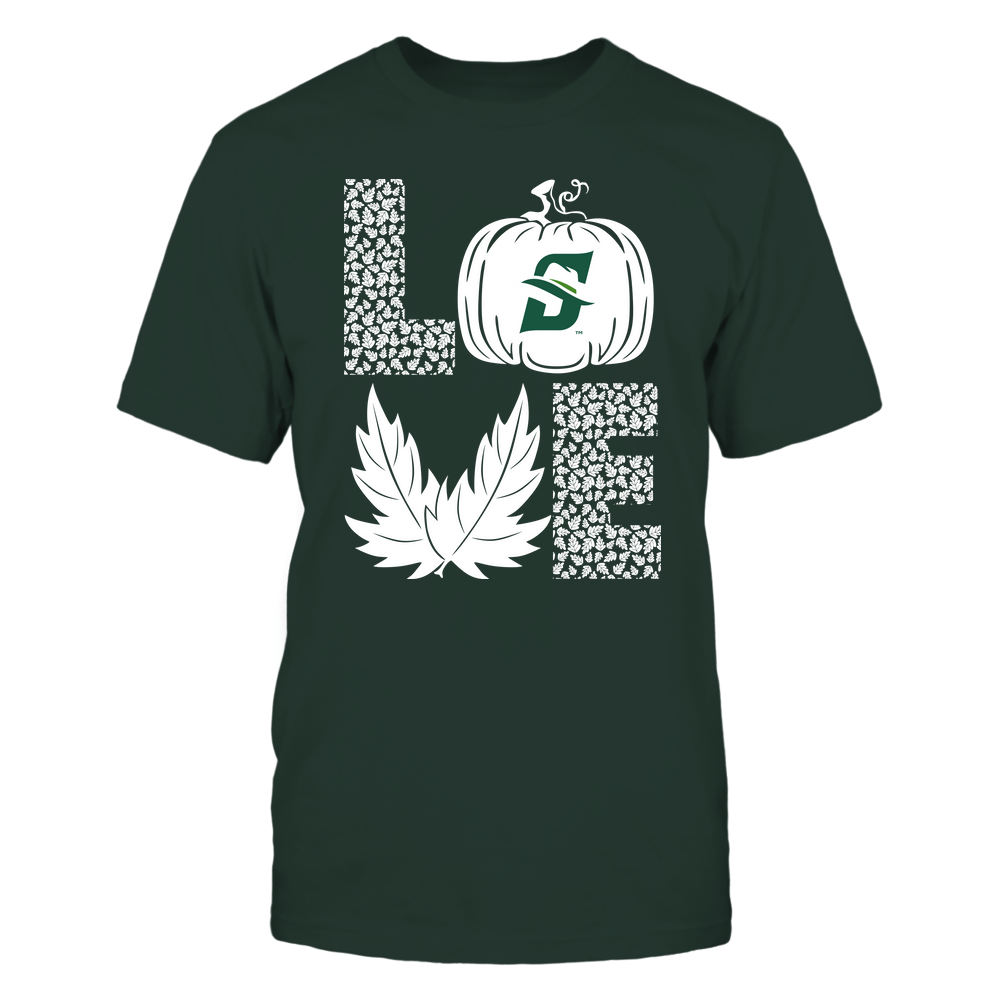 Stetson Hatters - Stacked Love - Fall - Leaf Pumpkin - Team Front picture