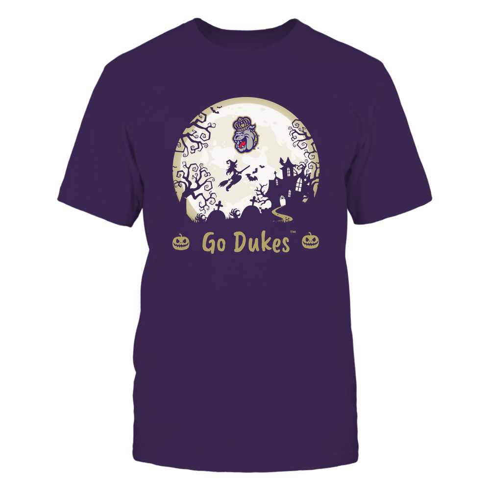 James Madison Dukes - Halloween Moon - Team Front picture