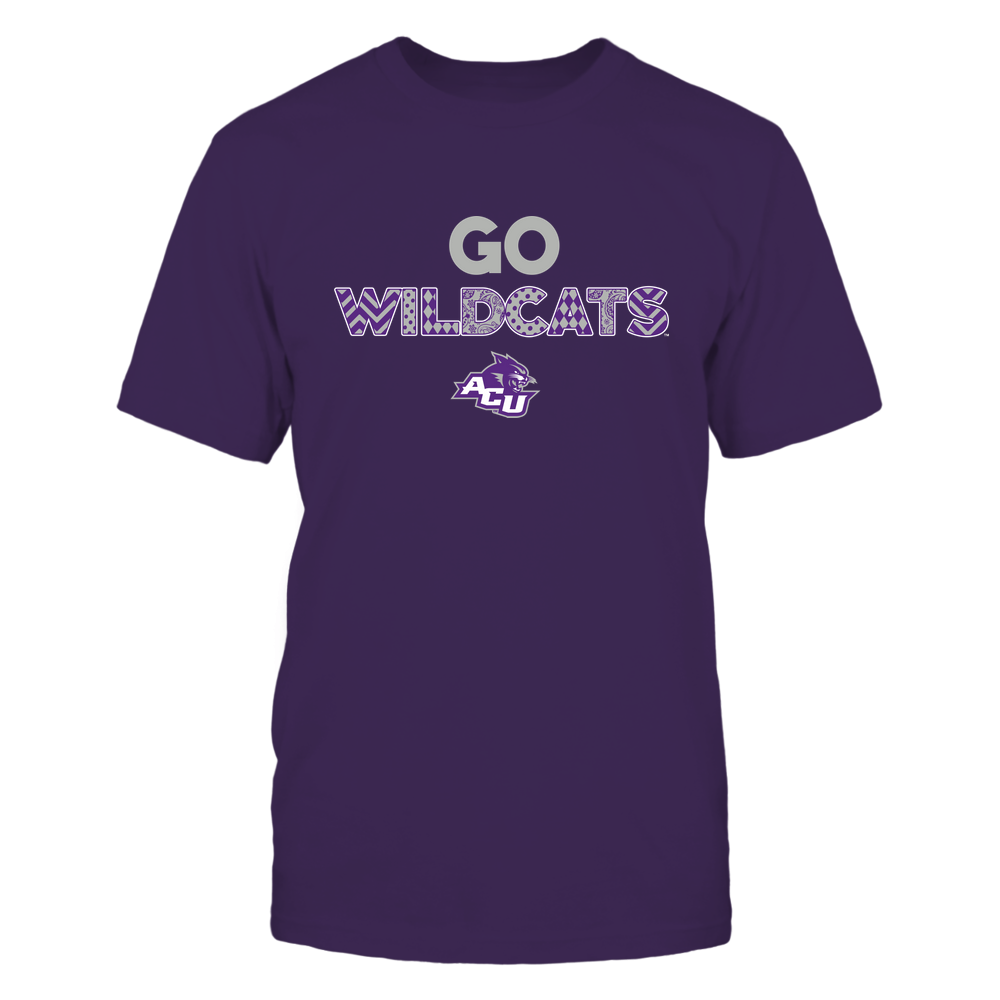 Abilene Christian Wildcats - Teach Love Inspire - Slogan Pattern - IF78-IC78-DS29 Front picture