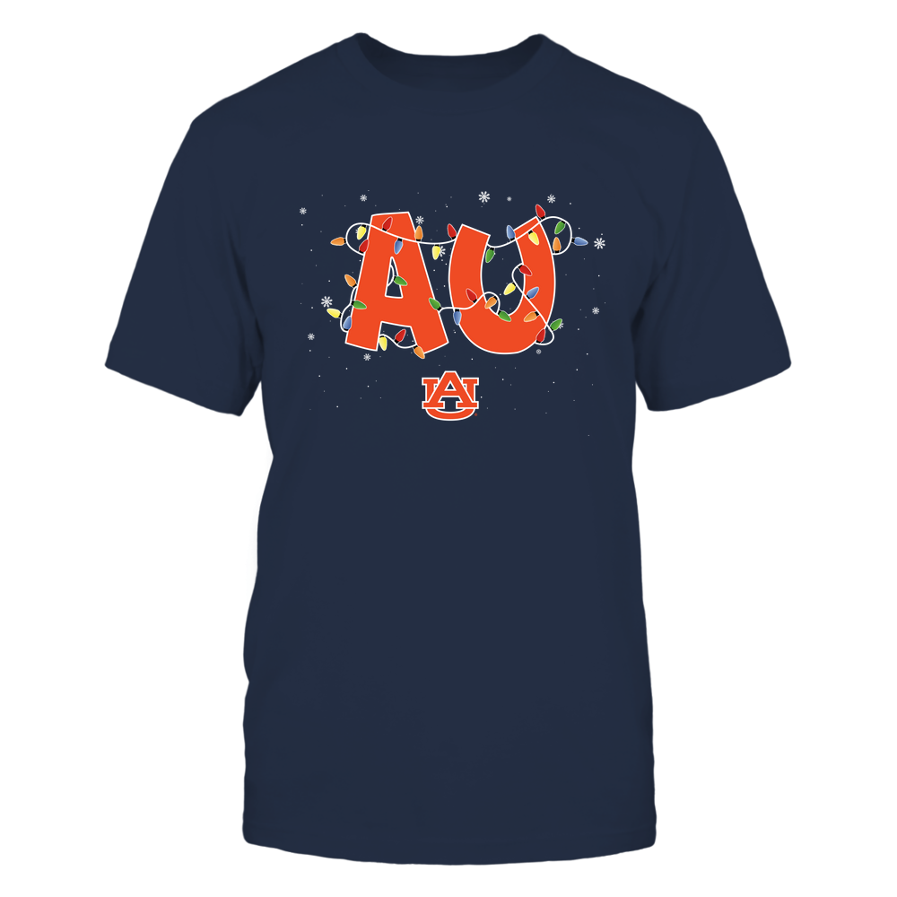Auburn Tigers - Xmas - Team Name Light - IF17-IC17-DS27 Front picture