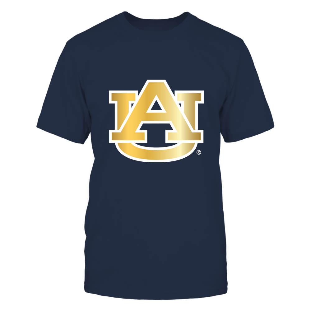 Auburn Tigers - Gold Metallic Logo - IF82-IC82-DS45 Front picture