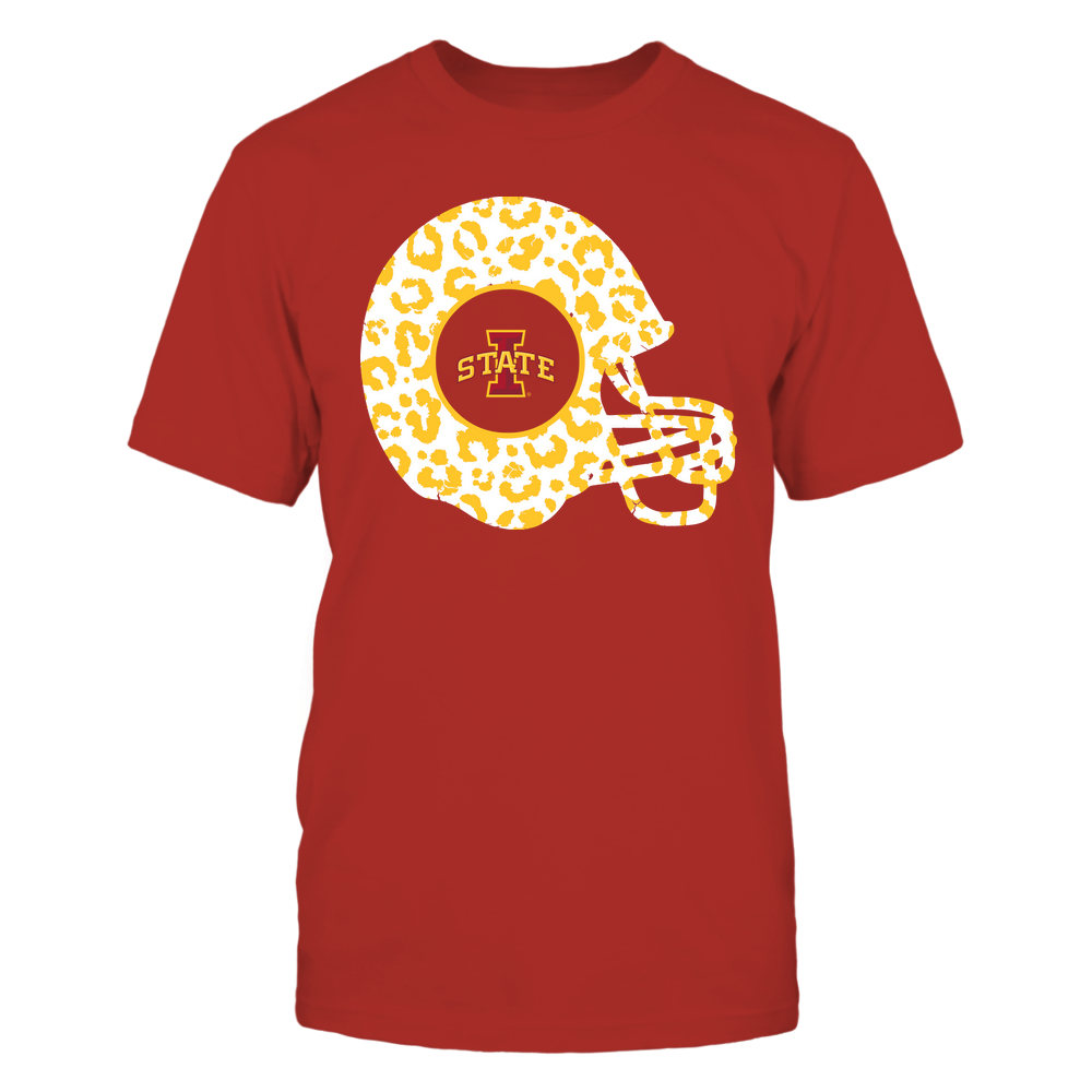 Iowa State Cyclones - Football - Leopard Helmet - Team Front picture