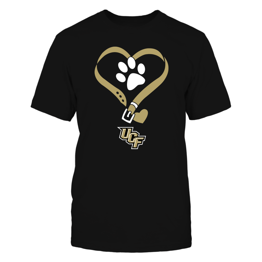 UCF Knights - Dog Collar Heart - Team Front picture