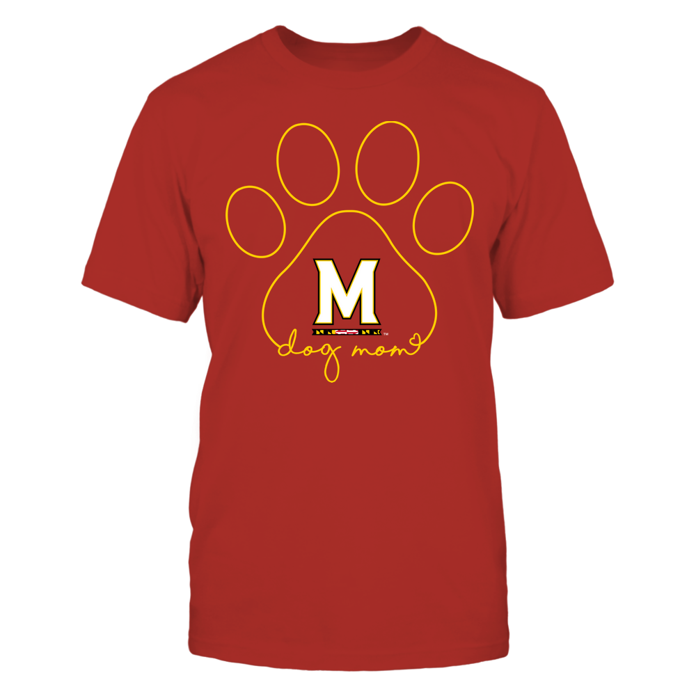 Maryland Terrapins - Dog Mom - Paw  - Team Front picture