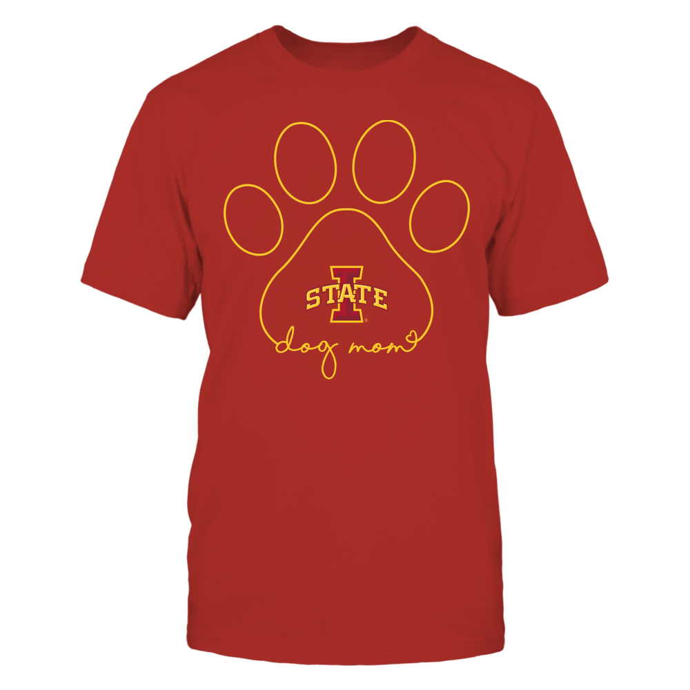 Iowa State Cyclones - Dog Mom - Paw  - Team Front picture