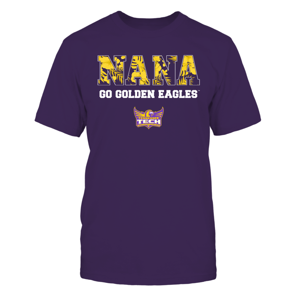 Tennessee Tech Golden Eagles - Nana - Tropical Pattern - Team Front picture