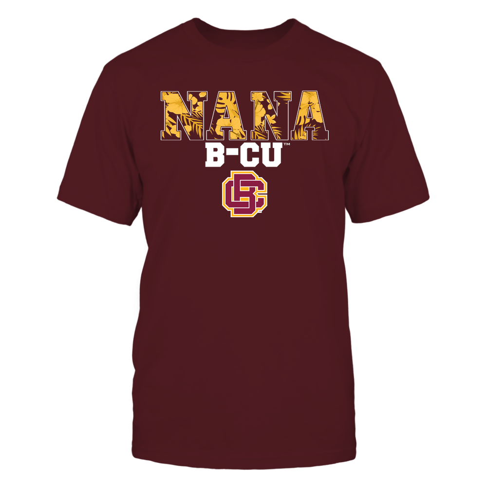 Bethune-Cookman Wildcats - Nana - Tropical Pattern - Team Front picture