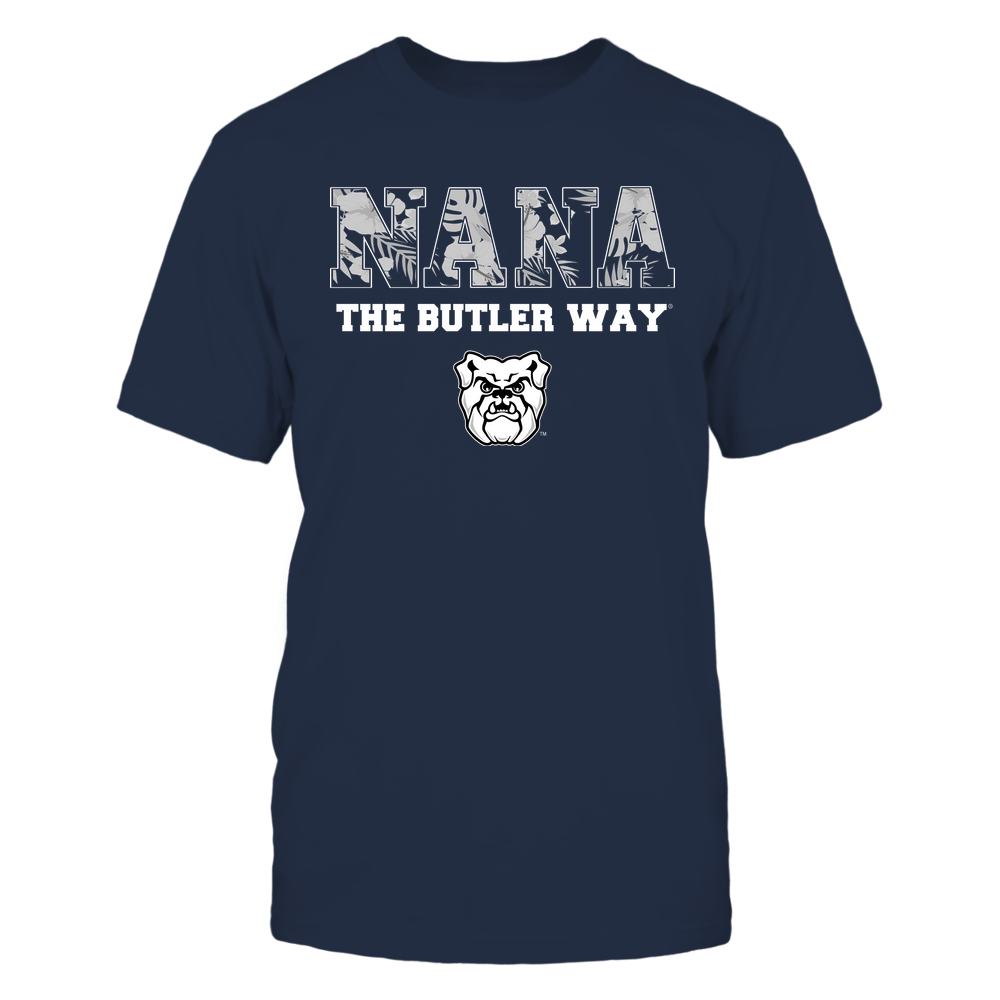Butler Bulldogs - Nana - Tropical Pattern - Team Front picture