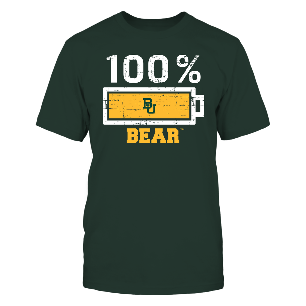 Baylor Bears - 100 Percent ^ Mascot ^ Team Front picture