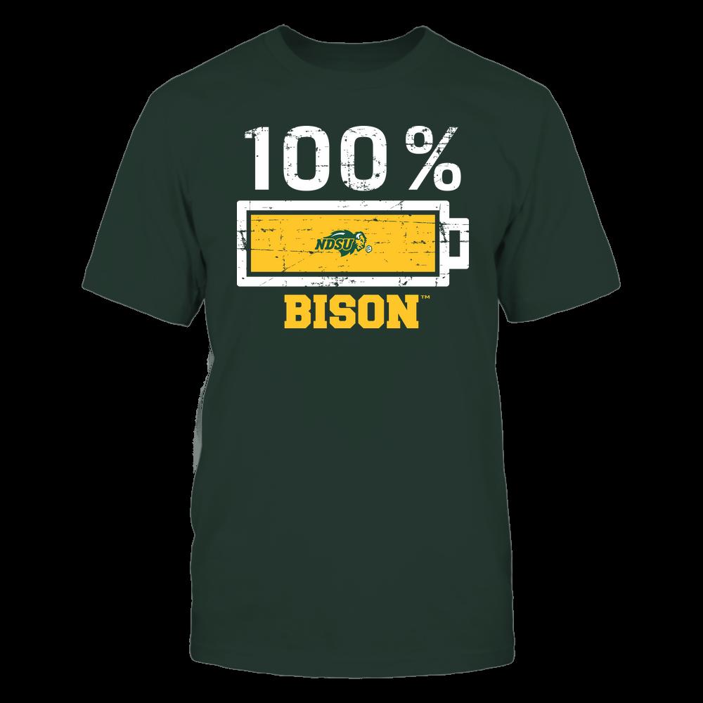 North Dakota State Bison - 100 Percent ^ Mascot ^ Team Front picture