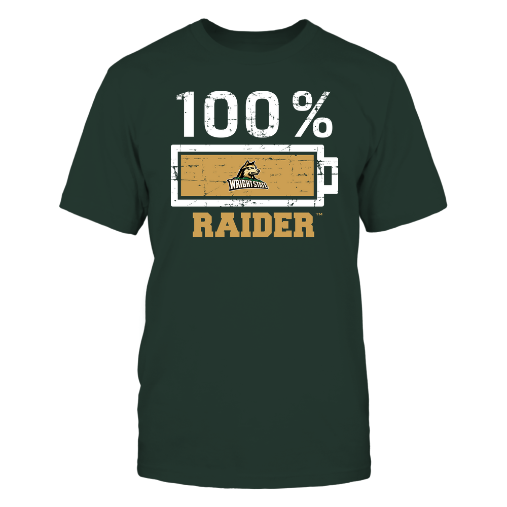 Wright State Raiders - 100 Percent ^ Mascot ^ Team Front picture