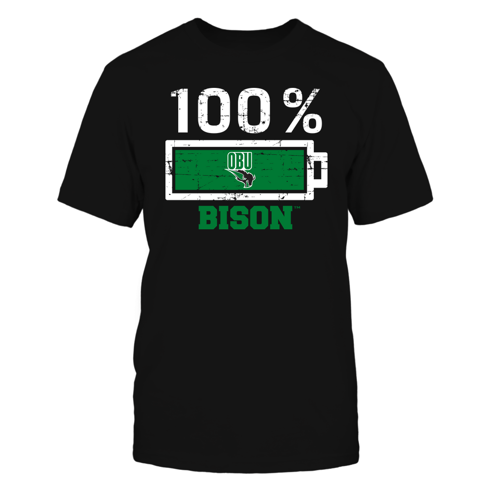Oklahoma Baptist Bison - 100 Percent ^ Mascot ^ Team Front picture