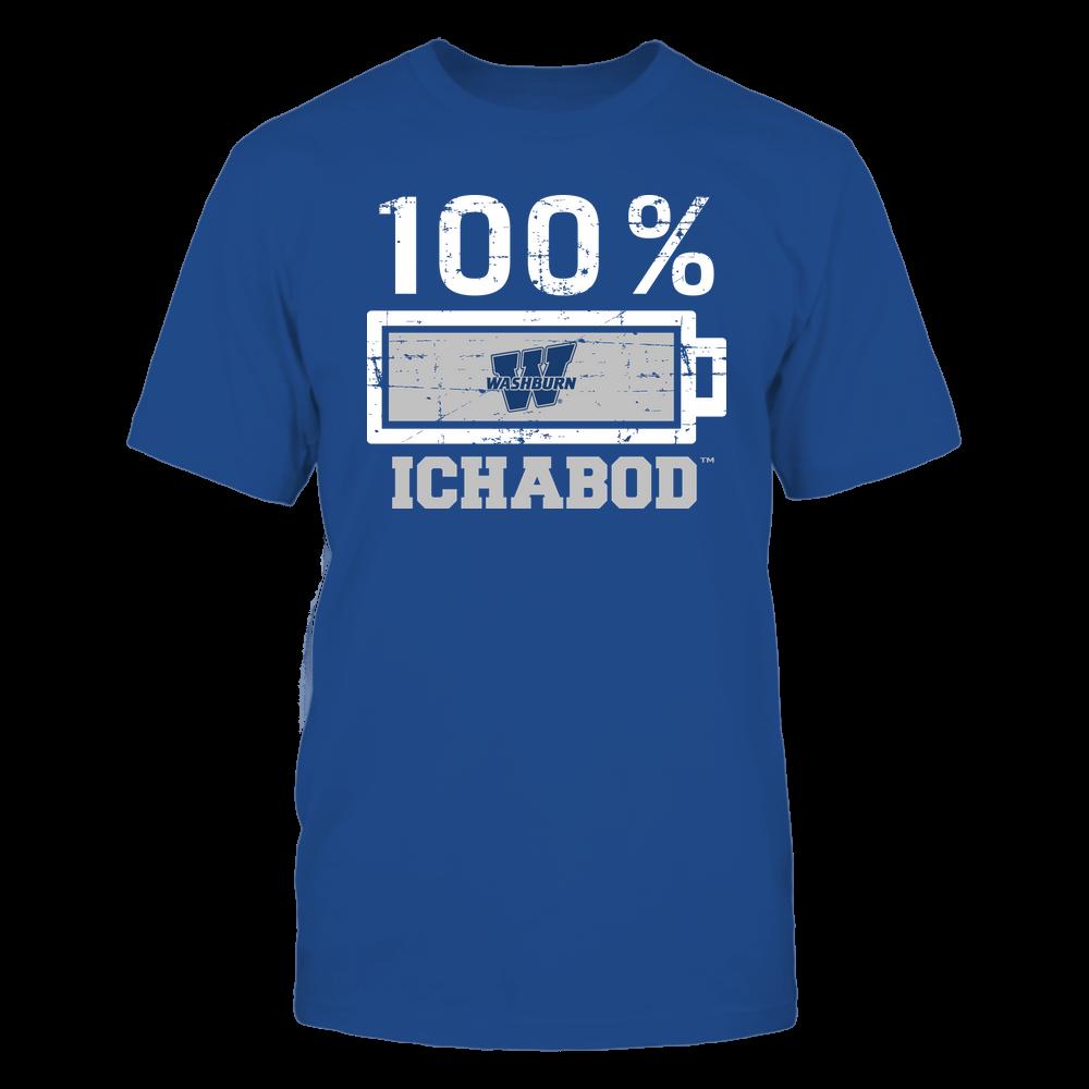 Washburn Ichabods - 100 Percent ^ Mascot ^ Team Front picture