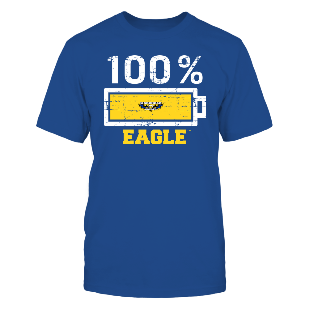 Morehead State Eagles - 100 Percent ^ Mascot ^ Team Front picture