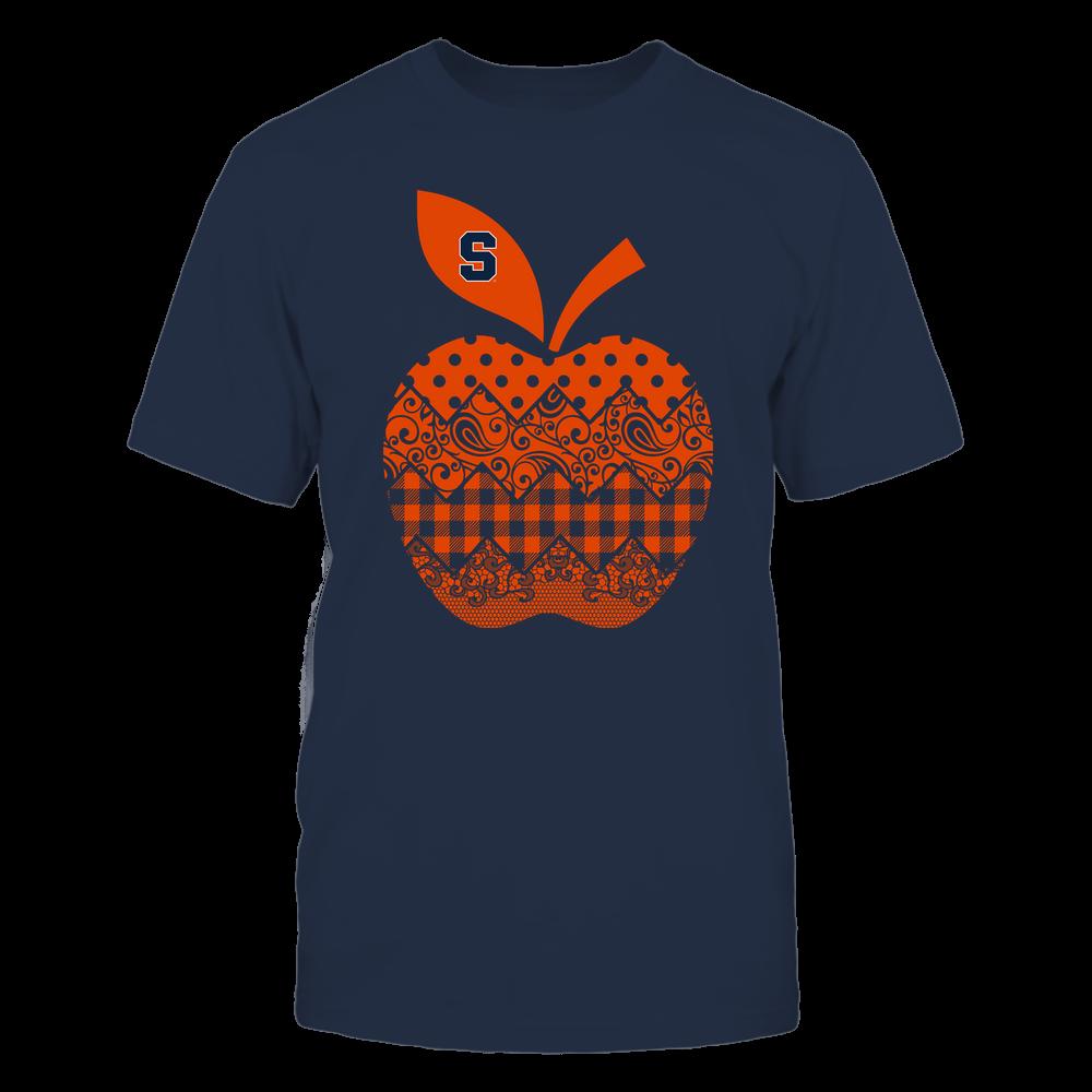 Syracuse Orange - Teacher - Apple Patterned - Team Front picture