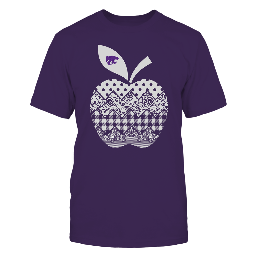 Kansas State Wildcats - Teacher - Apple Patterned - Team Front picture