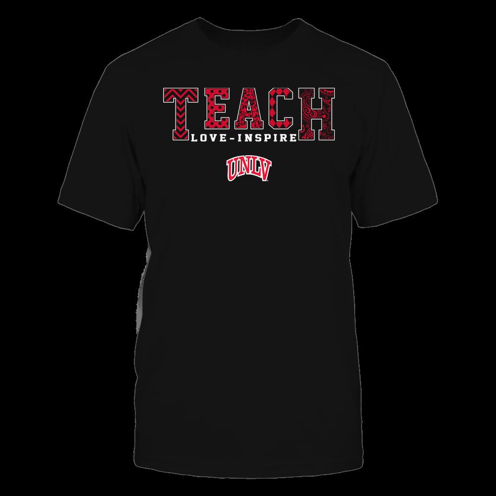 UNLV Rebels - Teach Love Inspire - Slogan Pattern - Team Front picture