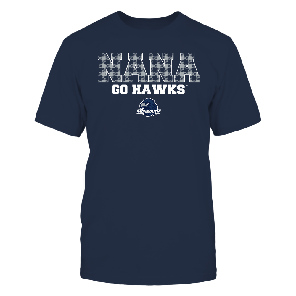 Monmouth Hawks - Nana - Checkered Pattern - Team Front picture