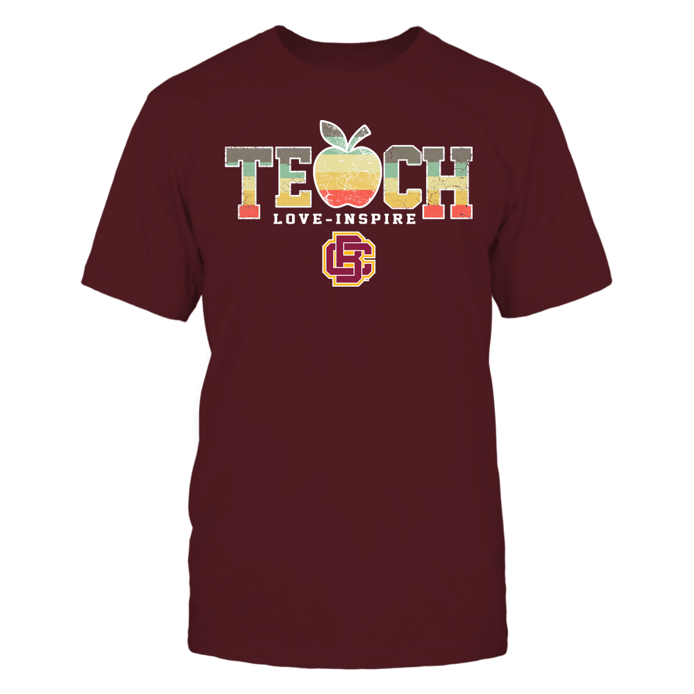 Bethune-Cookman Wildcats - Teach Love Inspire - Apple Vintage - Team Front picture