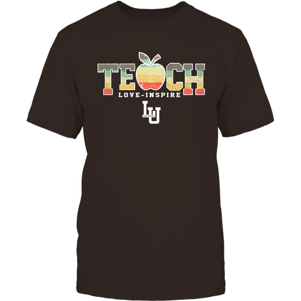 Lehigh Mountain Hawks - Teach Love Inspire - Apple Vintage - Team Front picture