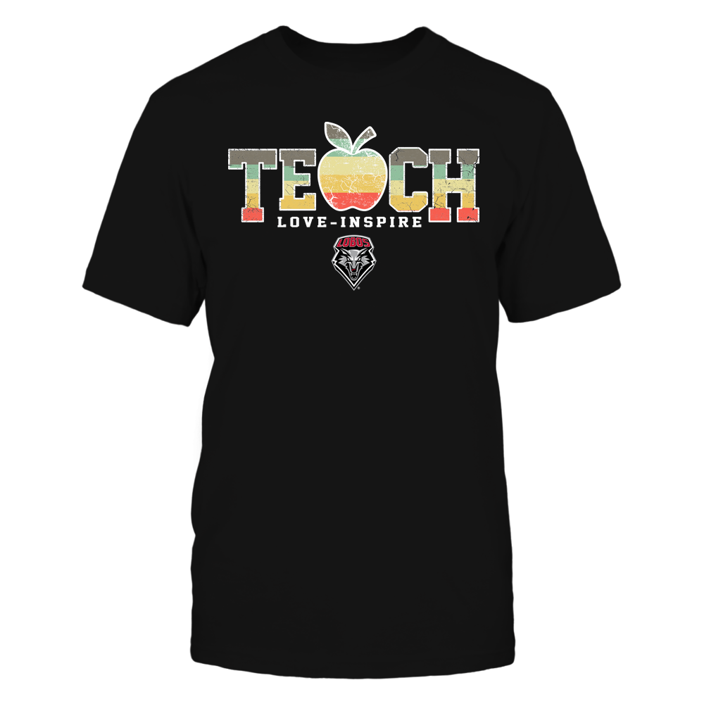 New Mexico Lobos - Teach Love Inspire - Apple Vintage - Team Front picture