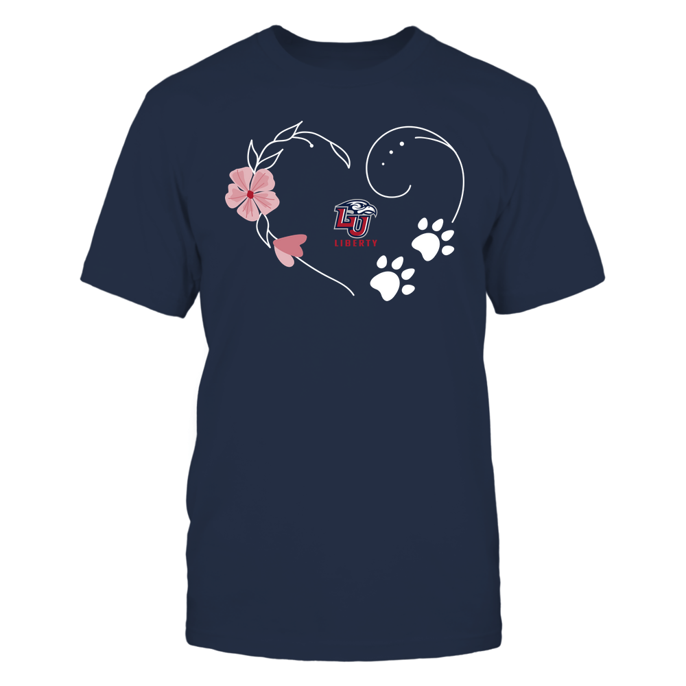 Liberty Flames - Flower Heart Paw - Team Front picture