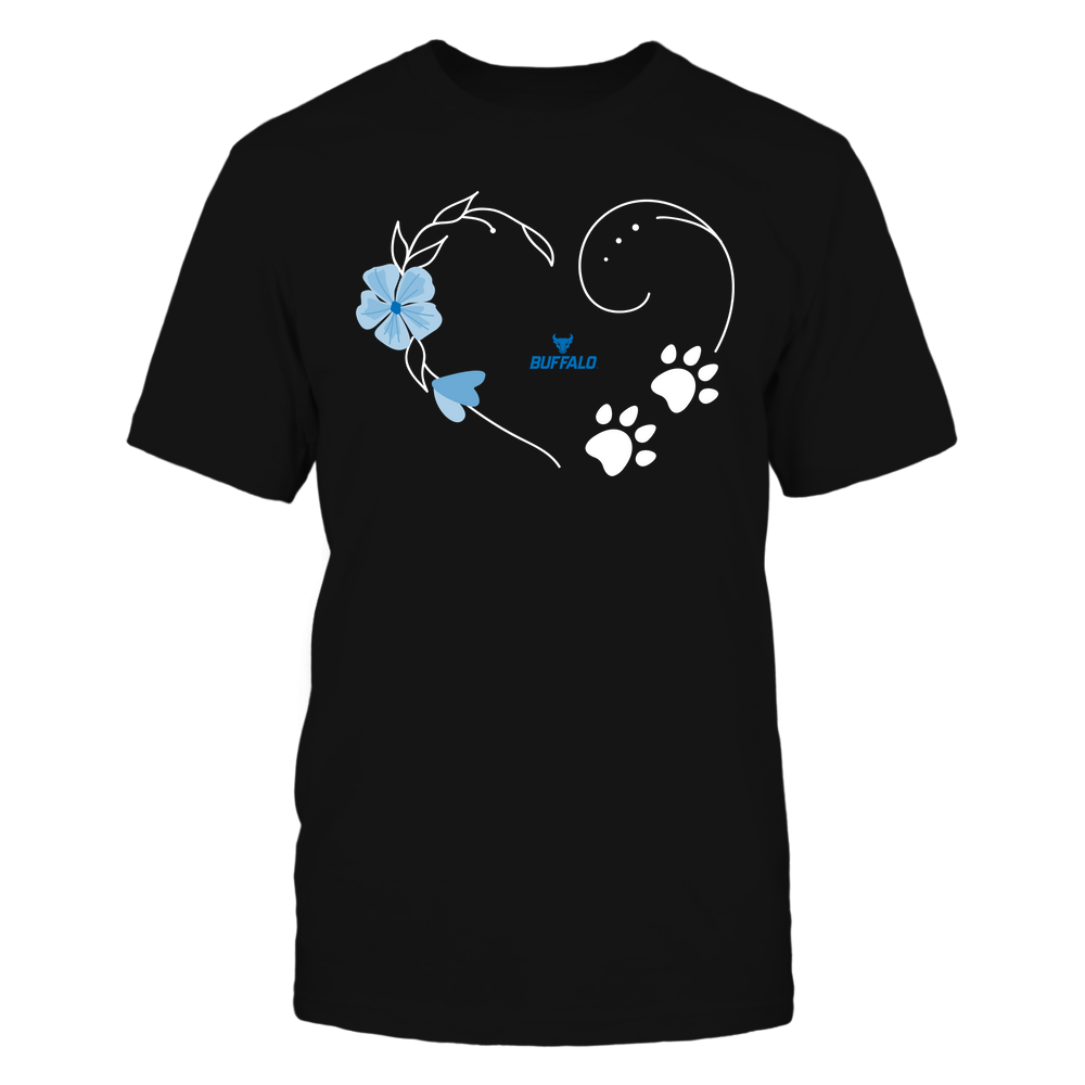 Buffalo Bulls - Flower Heart Paw - Team Front picture