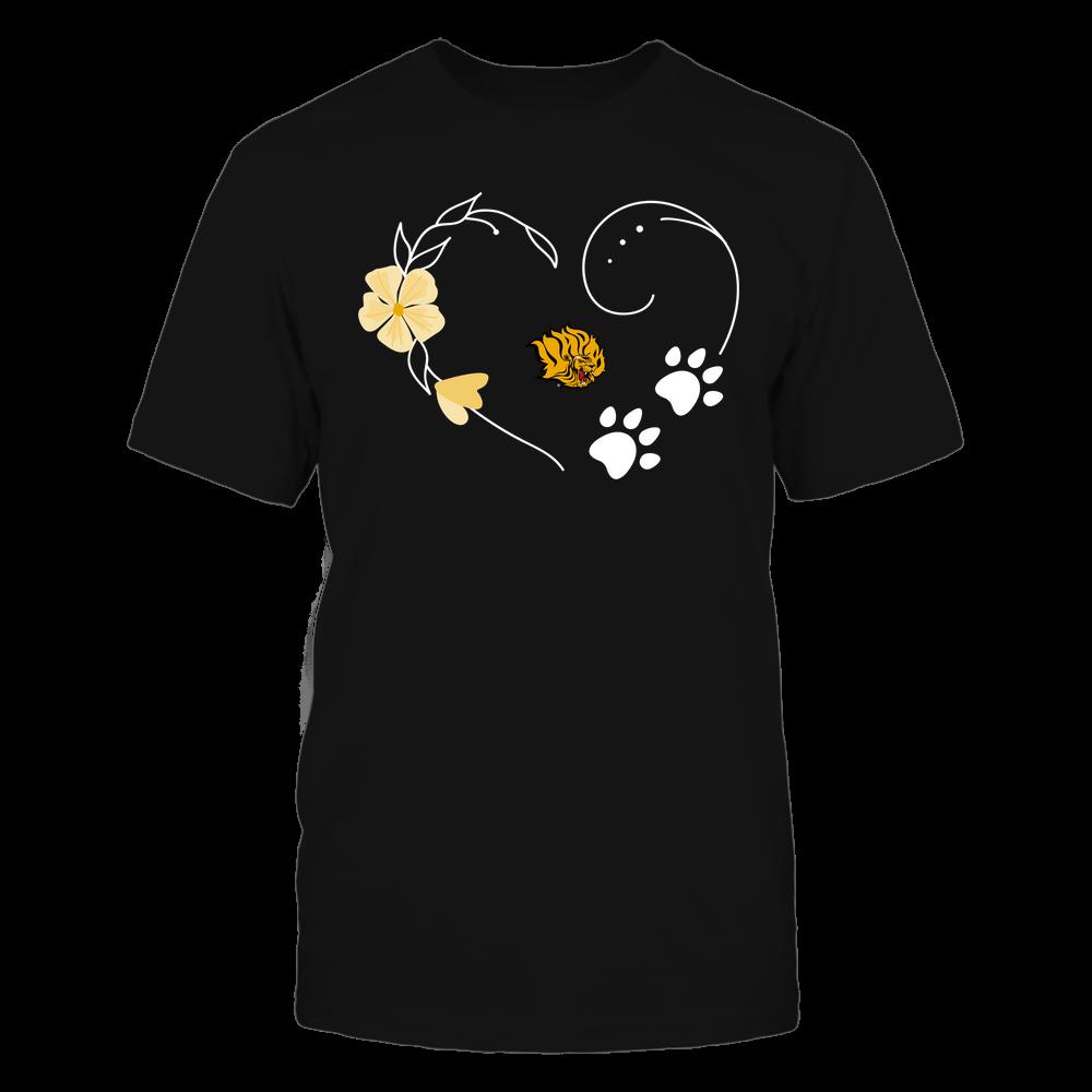 Arkansas Pine Bluff Golden Lions - Flower Heart Paw - Team Front picture