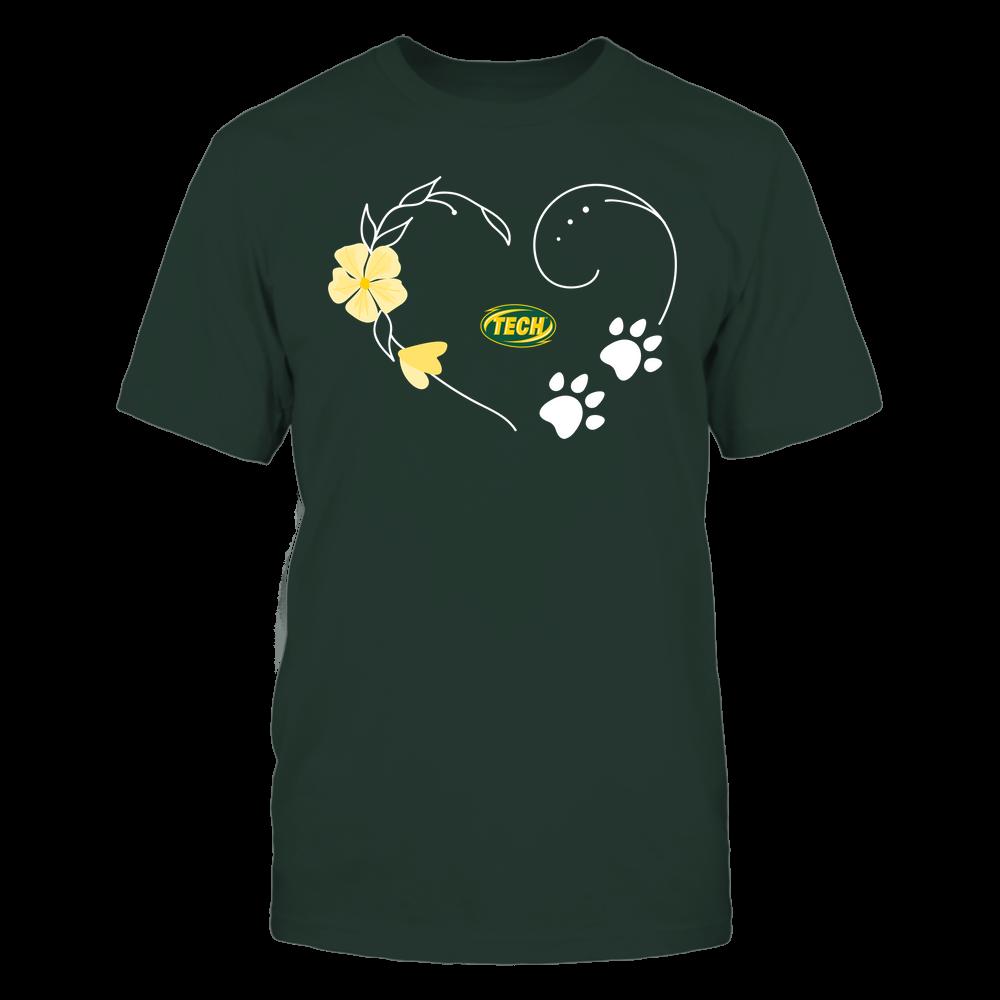 Arkansas Tech Golden Suns - Flower Heart Paw - Team Front picture
