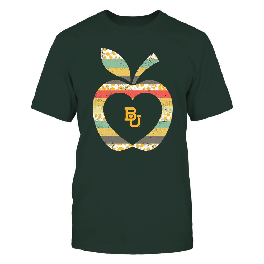 Baylor Bears - Teacher - Leopard Vintage Apple - Team Front picture