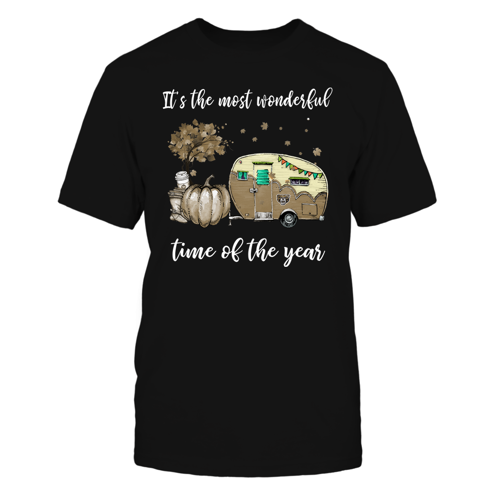 Oakland Golden Grizzlies - Fall - Camper - It's The Most Wonderful Time Front picture