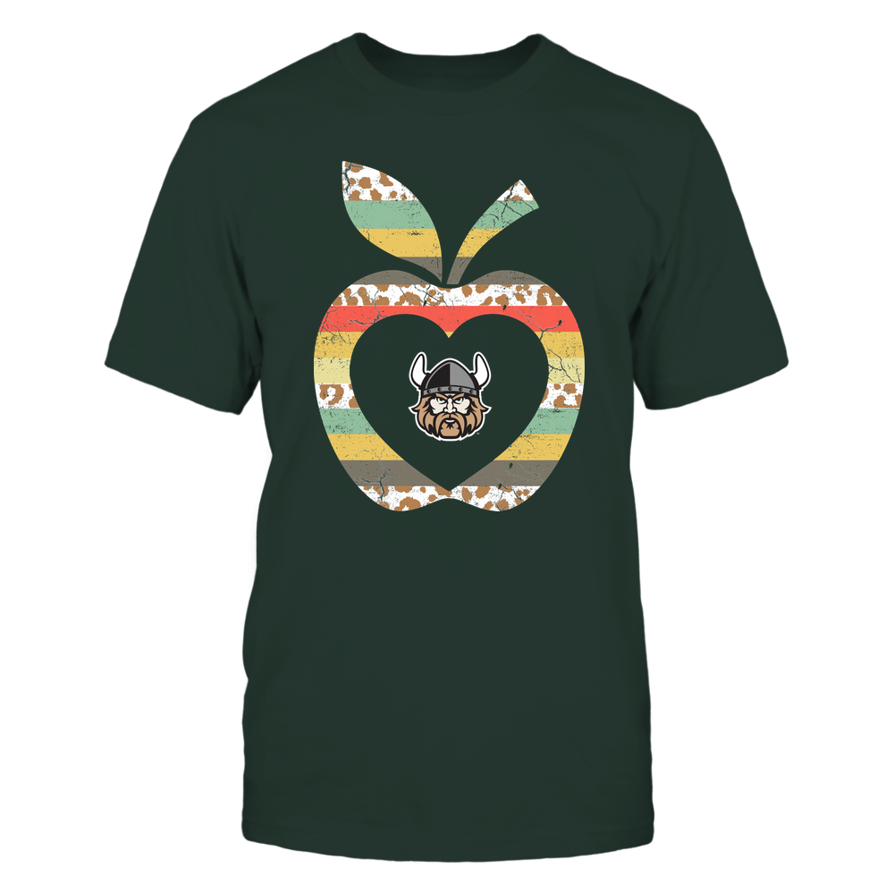 Cleveland State Vikings - Teacher - Leopard Vintage Apple - Team Front picture