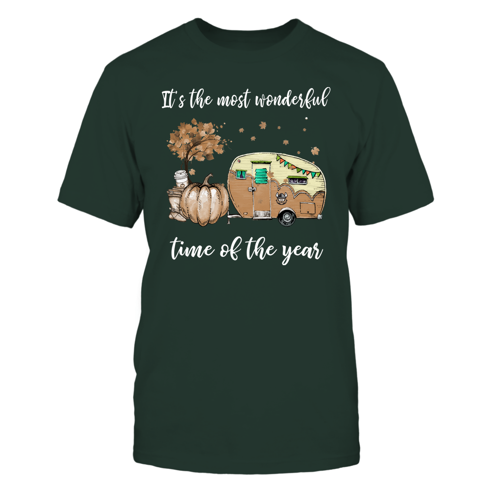 Cleveland State Vikings - Fall - Camper - It's The Most Wonderful Time Front picture