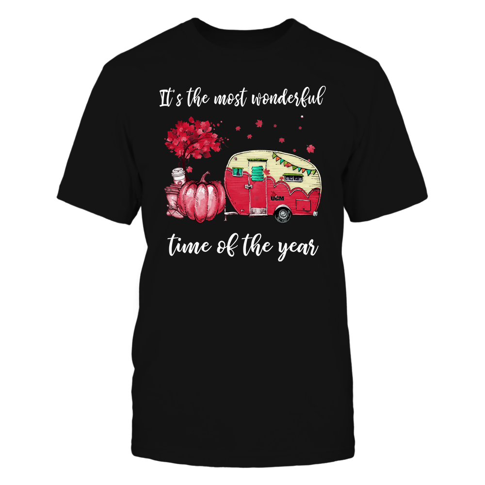 Central Missouri Mules - Fall - Camper - It's The Most Wonderful Time Front picture